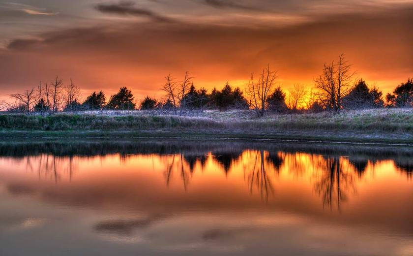 Sunset at Brzon