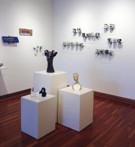 Pam Young (ceramics), Su Harvey (sculpture & ceramic tile)