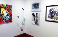 Lori Salts/Alias (left), Mark Coyle (sculpture)