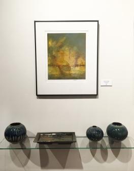 Willie Sapp (ceramics) and Valerie Knobel (painting)