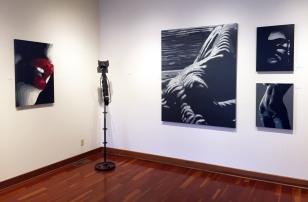 Alias Kane (paintings) / Brook Taylor (metal sculpture)