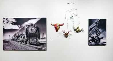 Carol Devall (mixed media), Bruce Thiel (photography)