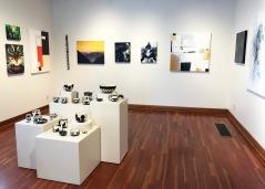 Pam Young (ceramics), M.C. Anderson (paintings), Alias Kane (paintings)